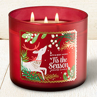 3-Wick Candle Fresh Balsam