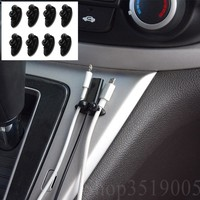 Car Stickers Car USB Cable Wire clips For Dodge ram 1500 2500 3500 4500 Journey Avenger Caliber Challenger accessories