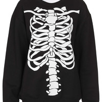 Skeleton Sweat By Tee And Cake