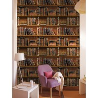 3D Self-adhesive Book Shelf Wall Sticker