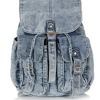 Railroad Denim Backpack - New In This Week  - New In
