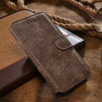 4.7 inch Phone Case,Luxury Retro Flannelette Wallet For iPhone 6, High Quality Flip Leather Cover For iPhone6, Durable Style