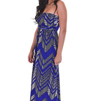 Closet Candy Boutique · Singing The Blues Maxi - Royal Blue