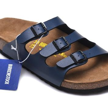 Men's and Women's BIRKENSTOCK sandals Florida Soft Footbed Birko-Flor 632632288-058