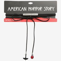 Licensed cool American Horror Story: Coven On Wednesdays We Wear Black Cord Choker Necklace