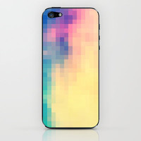 Soft Pixels iPhone & iPod Skin by Caleb Troy | Society6