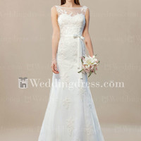Tulle Lace Wedding Gown