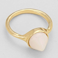 """Cone Stone Rings White 0.3""""Height 0.75""""Diagram"""