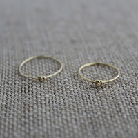 Knot Ring Set-Gold