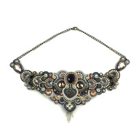 Black & Gray Dopodomani Necklace