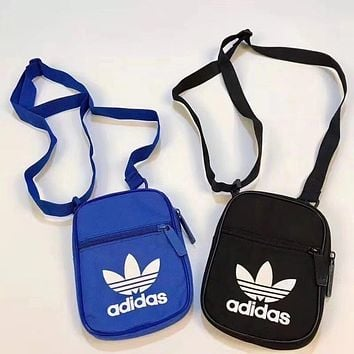 Adidas Popular Women Men Canvas Purse Shoulder Bag Crossbody(2-Color) I-A30-XBSJ