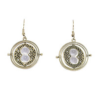 Harry Potter Time Turner Dangle Earrings