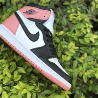 Nike Air Jordan 1 Retro High OG Rust  Pink  Basketball Sneaker