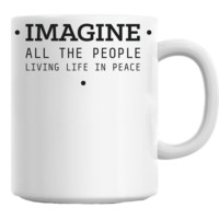 John Lennon Imagine Mug