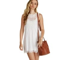 Sale-white Lace Bonita Tunic