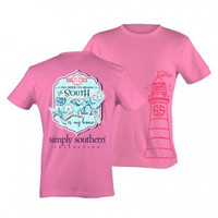 No Need To Dream Simply Southern Top - Neon Pink