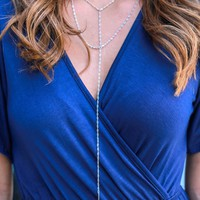 Hot Date Necklace - Silver
