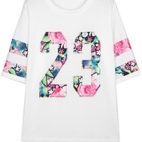 Floral 23 Tee - OASAP.com
