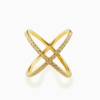 X Marks It Ring