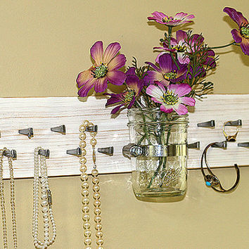 Wall Jewelry Earring Display Organize Storage Organizer Necklace Rack