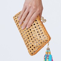 Charlotte Clutch - Natural Straw