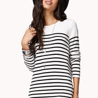 Essential Fitted Striped Tee