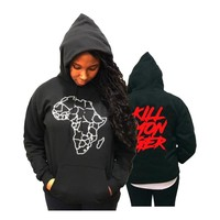 KILLMONGER Sweatshirt Women Casual Long Sleeve Black Panther Hoodies Hot Sale Wakanda Forever Sweatshirt Unisex Clothes