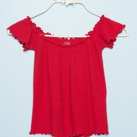 Jessie Thermal Top - Tops - Clothing