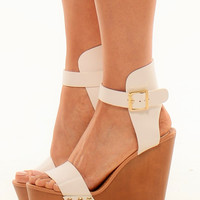 Emily - The Perfect White Wedges
