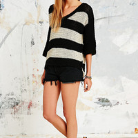 Free People Parkslope Jumper in Black and White - Urban Outfitters