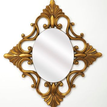 Butler Calais Gold Wall Mirror