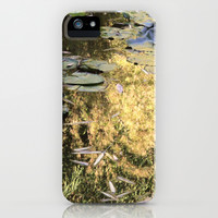 golden pond iPhone & iPod Case by Marianna Tankelevich