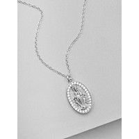 Mary Necklace - Silver