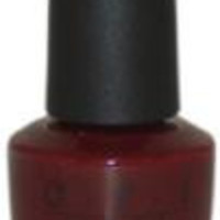 OPI Women Nail Lacquer # NL W52 Got The Blues For Red Nail Polish