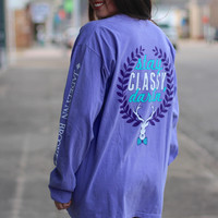 Stay Classy Darling Tee by Jadelynn Brooke {Violet}