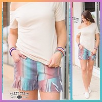 Freedom Fringe Shorts by Crazy Train