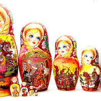 Matryoshka Russian doll The tale of sleeping beauty kod320