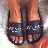 Givenchy Woman Fashion Sandals Slipper Shoes