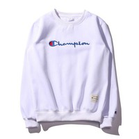 Champion Hot Sale print shirt top sweater White
