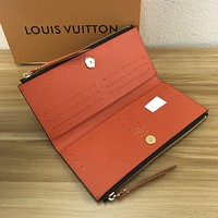 LV Louis Vuitton MONOGRAM CANVAS Adele WALLET