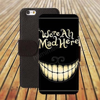 Cartoon smiling face iphone 5/ 5s iphone 4/ 4s iPhone 6 6 Plus iphone 5C Wallet Case , iPhone 5 Case, Cover, Cases colorful pattern L058