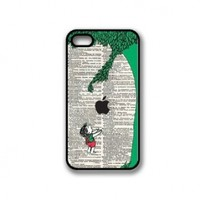 Giving Tree Illustration iPhone 4 Case - Fits iPhone 4 and iPhone 4S