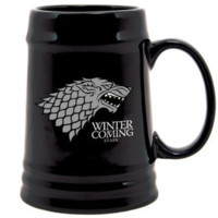 GAME OF THRONES STARK SIGIL STEIN MUG - Official