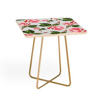 Allyson Johnson Roses and stripes Side Table