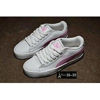 PUMA Women Casual Running Sport Shoes Sneakers White Pink I-CSXY
