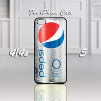 Fresh Diet Pepsi, Design For iPhone 4/4s Case or iPhone 5 Case - Black or White (Option)