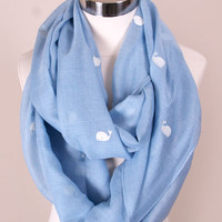 Whale Of A Tale Infinity Scarf