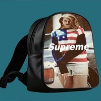 Lana Del Rey Supreme for Backpack / Custom Bag / School Bag / Children Bag / Custom Sc