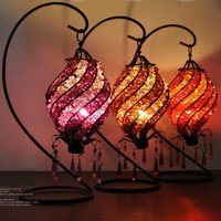 Aleck bead romantic classical candlestick from Time Memory