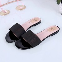 Fendi Casual Fashion Women Sandal Slipper Shoes